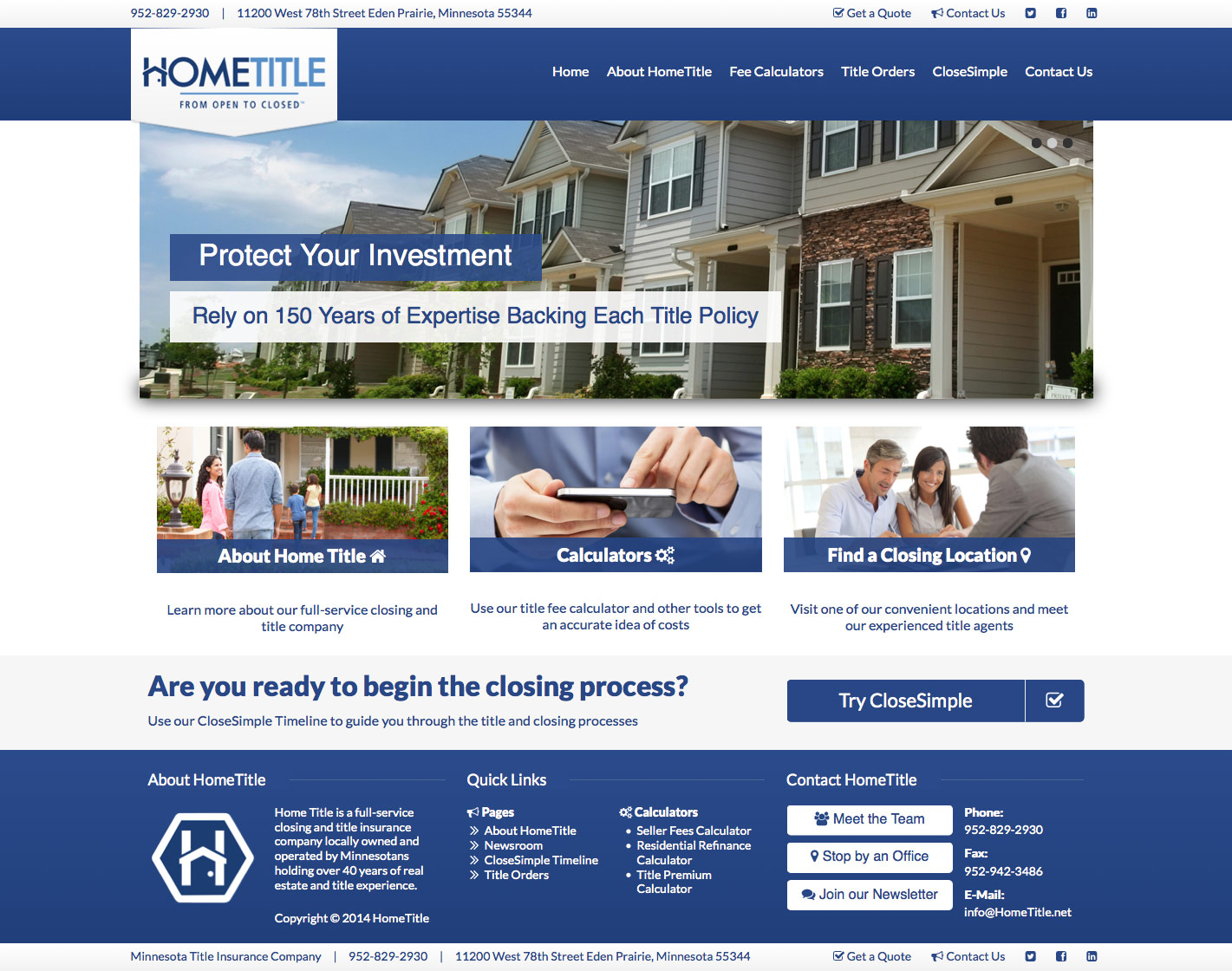 Home Title Site